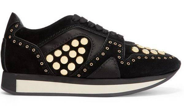 Burberry black sneakers $5,800 From NET-A-PORTER.com