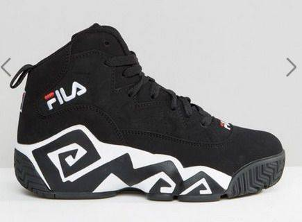 Fila black sneakers $1219,5 From asos.com