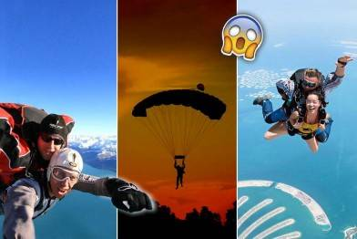 【旅人終極Bucketlist】 空中跳傘 Best 7 Skydiving Experience