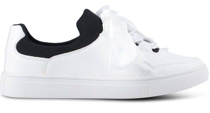 Addicts Anonymous Madison Satin Ribbon Classic Sneakers