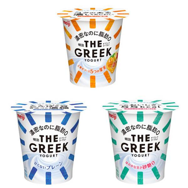 明治「The Greek Yogurt」