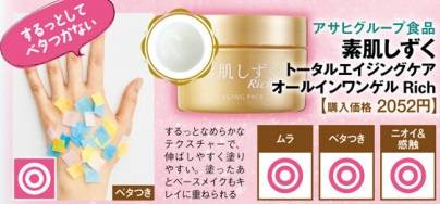 素肌Shizuku Total aging care All-in-one Gel