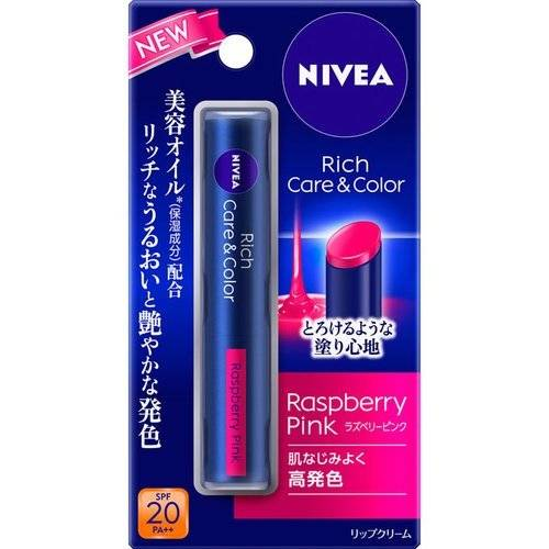 NIVEA Rich Care & Color 潤唇膏 2g