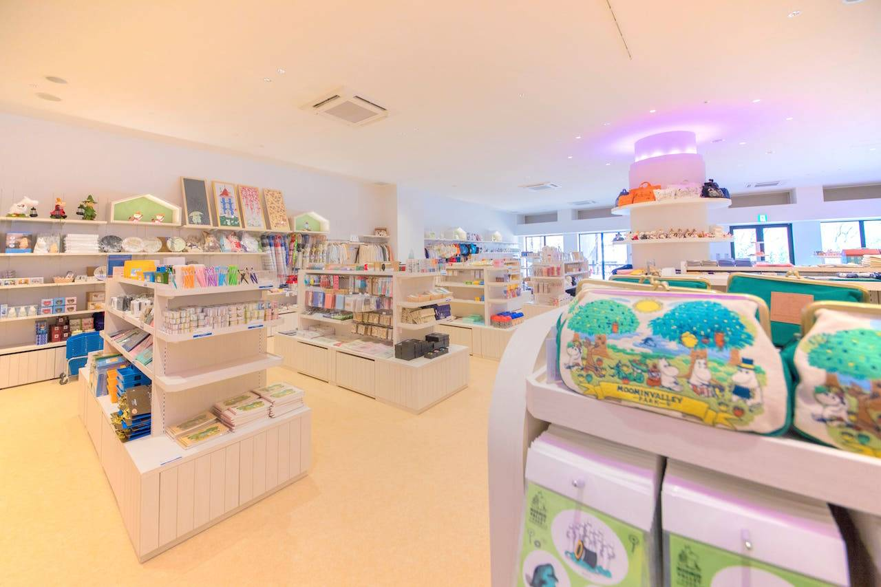 Gift shop(圖片來源:MOOMINVALLEY PARK)