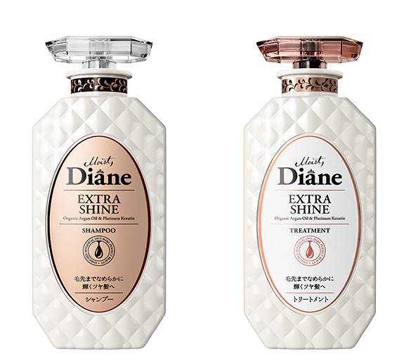 Moist Diane Extra Shine Shampoo + Treatment
