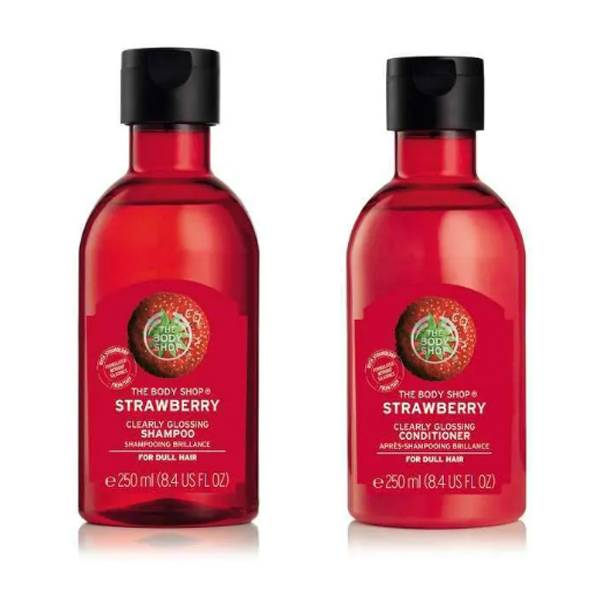 THE BODY SHOP Clearly Clossing Shampoo + Conditioner ST