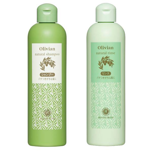 House Of Rose Olivian natural shampoo + rinse
