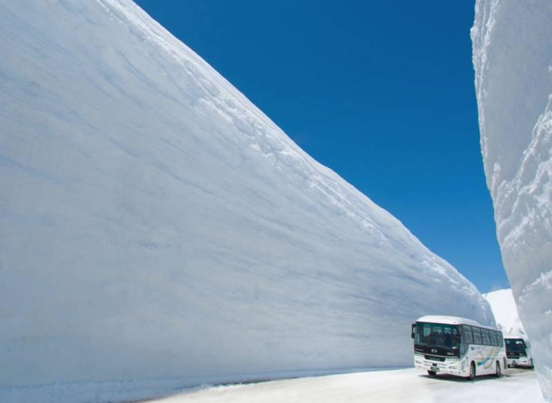 立山黑部阿爾卑斯山脈路線