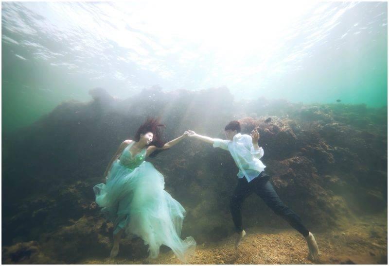 冬日沖繩|請專業攝影師隨行 冬天水清最適合影海底相