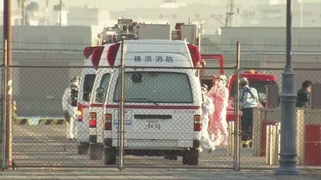 再有10人確診。(圖片來源:NHK)