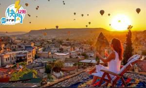 GOtrip快閃12點, 土耳其 , 卡帕多奇亞 ,伊斯坦堡, 機票, 旅遊優惠, 機票優惠, 卡塔爾航空, Qatar, 絕景, 熱氣球, 日出