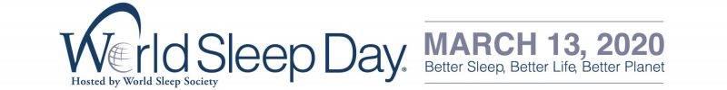今年世界睡眠日定為3月13日。(圖片來源:世界睡眠醫學會)