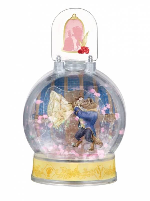 日本推6款300円DIY《美女與野獸》迷你水晶球!還可以自己一手一腳組裝