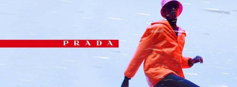 除了PRADA,法國奢侈品集團Kering將旗下GUCCI、BALENCIAGA、YSL準備投入口罩生產的行列。(圖片來源:PRADA)