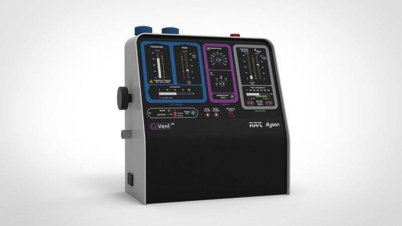 【新冠肺炎】Dyson宣布生產1.5萬部呼吸機!另捐5000部予不同國家!