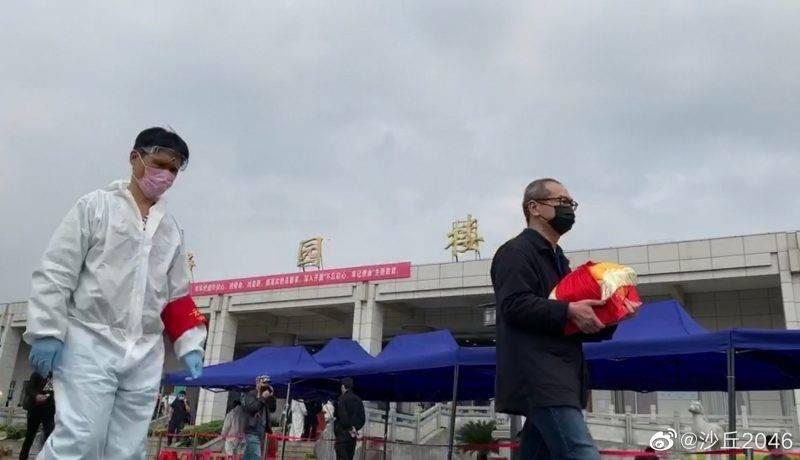 【新冠肺炎】漢口殯儀館排長龍領骨灰 網民:好難過,那麽多的家庭破碎!