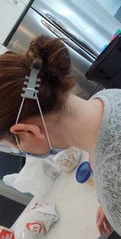 【新冠肺炎】加拿大13歲少年設計護耳神器