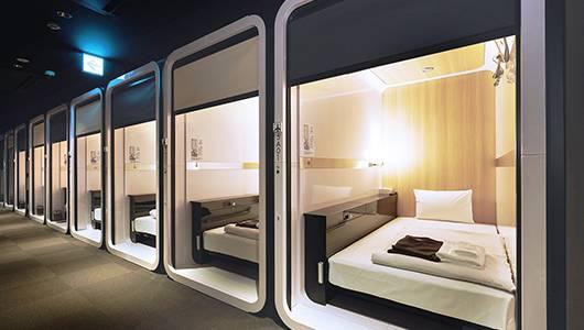 獨遊人士超愛的日本連鎖膠囊旅館申請破產!不敵疫情 入住率僅得20%