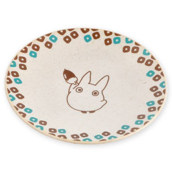 香港指定分店有得買!12款超美龍貓、煤炭屎、無臉男美濃燒陶瓷碟
