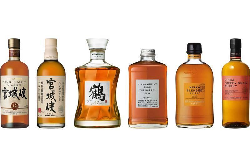 日本的威士忌都是港人最愛。(圖片來源:網上圖片)