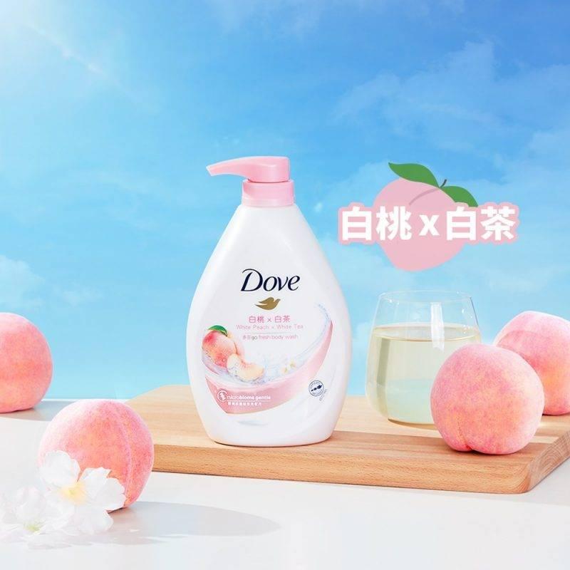 夏日,dove,gofresh,升級配方,沐浴露,水嫩,清爽,白桃