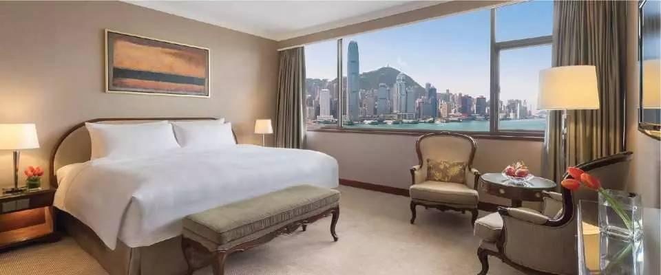 豪華海景客房 Deluxe Harbour View Room(圖片來源:kkday)