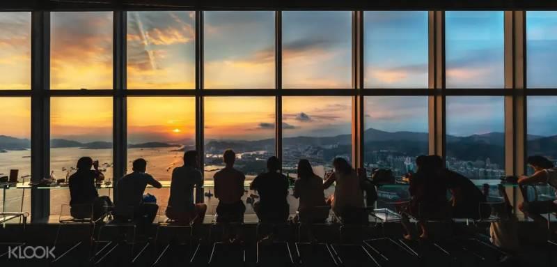 香港天際100觀景台門票「買一送一」優惠