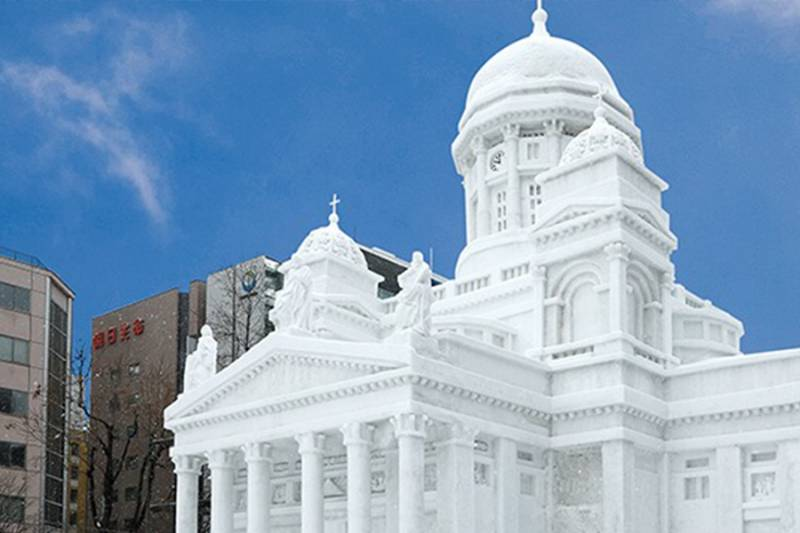 北海道雪祭規模大幅縮小 主辦方:明年暫停製作大型冰雕