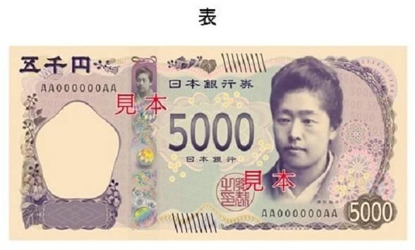 你找到現在發行中的日圓紙幣的秘密嗎?