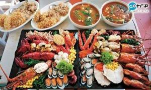 曼谷Best100, 曼谷美食, 曼谷, 泰國, 泰國海鮮, Pae Radna Mahachon