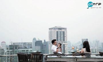 曼谷Best100, 曼谷美食, 曼谷, 泰國, 曼谷天台酒吧, 天台酒吧, 文青, Vanilla Sky Rooftop Bar