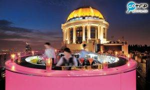 曼谷Best100, 曼谷美食, 曼谷, 泰國, 曼谷天台酒吧, 天台酒吧, 醉爆伴郎, Skybar at lebua