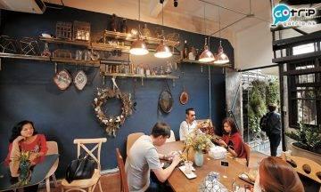 曼谷Best100, 曼谷美食, 曼谷, 泰國, 曼谷Cafe, 打卡, Wall Flowers Café
