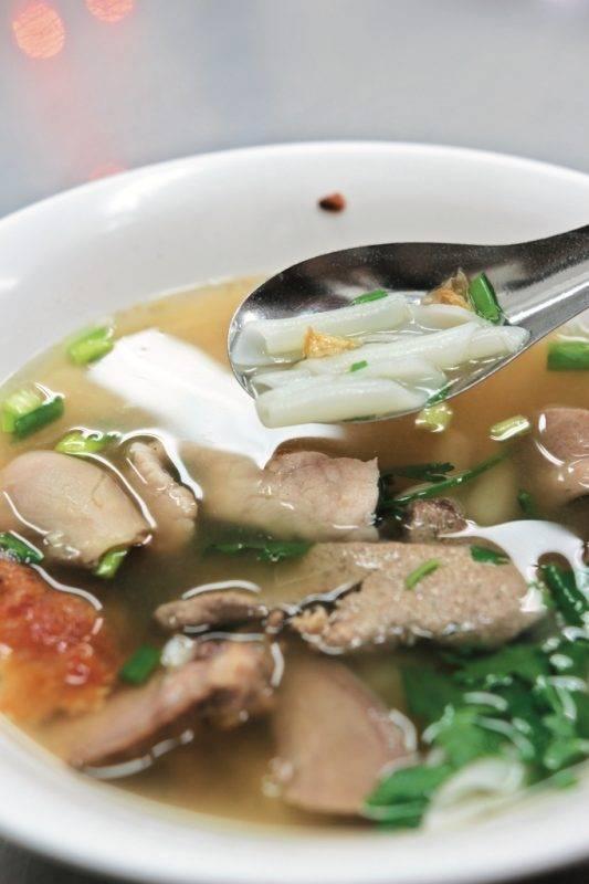 曼谷街頭美食2020, 曼谷Best100, 曼谷美食, 曼谷, 泰國, 粿條, 陳億粿條