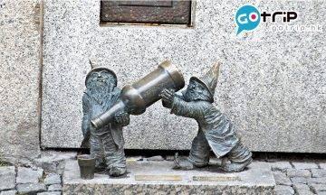 波蘭景點|波蘭奇趣小矮人之城 400座小矮人銅像逐個捉