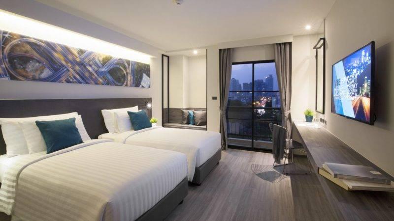 【#GOTRIP快閃12點】曼谷人氣酒店X2 Vibe住宿只需5!包餐飲同按摩!