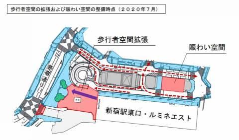JR新宿站東西通路7月啟用 出錯閘都可以走回去!