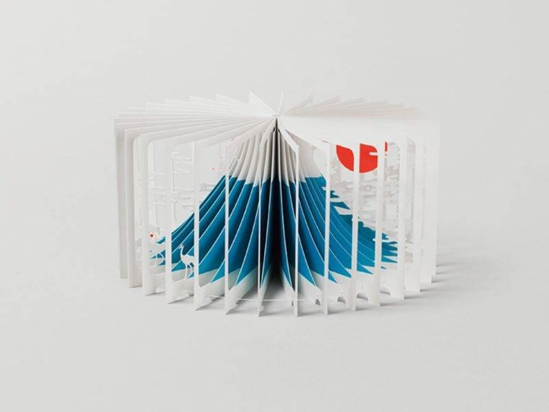 日本建築師大野友資,以獨特紙雕手法製作出猶如藝術品一樣的 360° 立體書! 售價:HK5<span style=