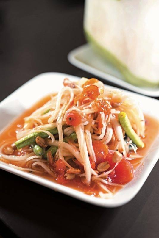 曼谷Best100, 曼谷美食, 曼谷, 泰國, 泰菜, Som Tam Nua
