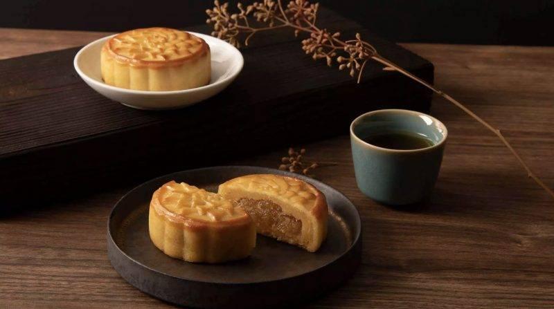 月餅,台灣,微熱山丘,鳳梨奶黃月餅