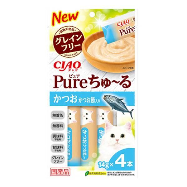第2位|CIAO 啾嚕肉泥 Pure 柴魚+柴魚乾 售198日圓(約HK.3)