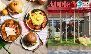 台灣, Sanrio主題餐廳, Hello Kitty蘋果村親子餐廳, My Melody, 玉桂狗, 布甸狗, 蛋黃哥, Keroppi