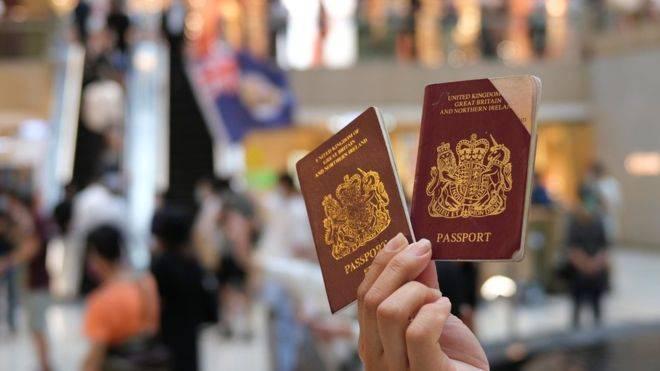 港版國安法, 移民, 移居, 英國, BNO, BNO移民
