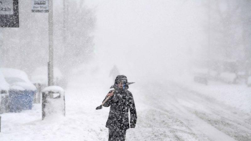 冬天還會下大雪,超級凍。(圖片來源:Skynews)