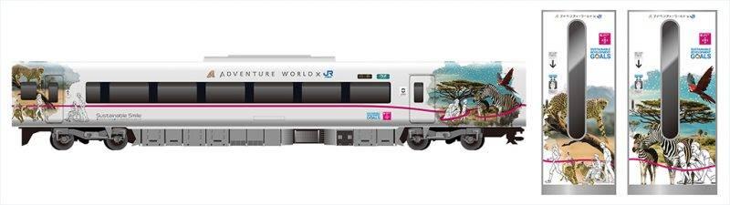JR西日本,熊貓黑潮號,新列車