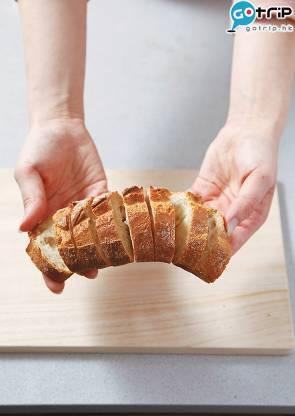 如果已切片的,應該不會發生麵包向下擺的事件。