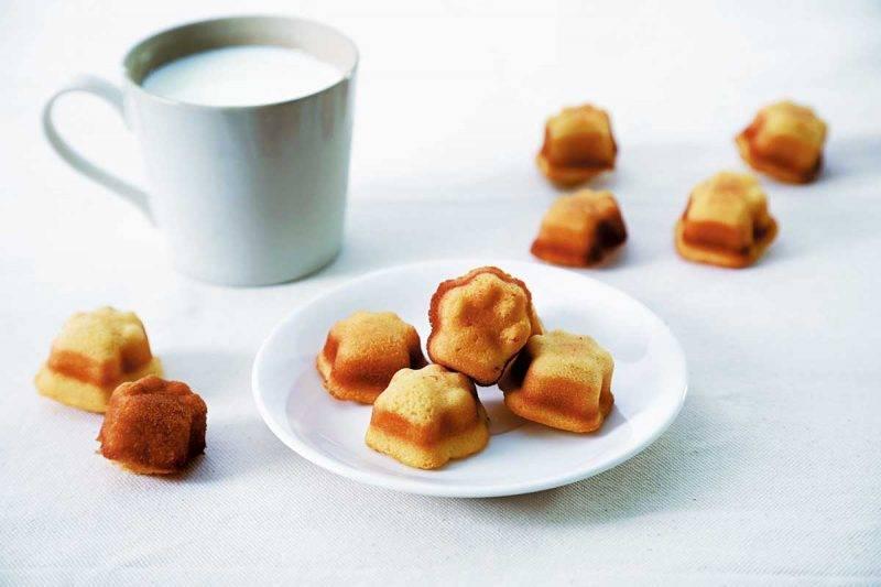 除了方包,店內還出賣肉 球形的法式小蛋糕 madeleine,10件 ¥390/ HK。