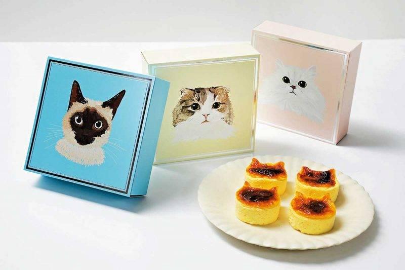 喵星人焗芝士小蛋糕 每盒4件 ¥1,000/HK