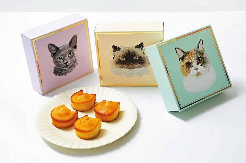 喵星人牛油小蛋糕 每盒4件 ¥880/HK