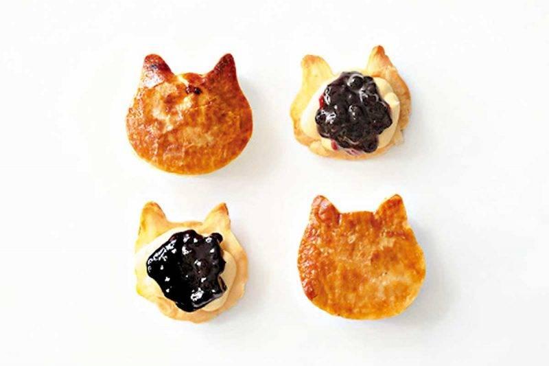 喵星人忌廉芝士藍莓批 每個 ¥330/HK